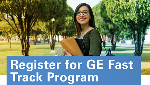 Register for GE Fast Track Program
