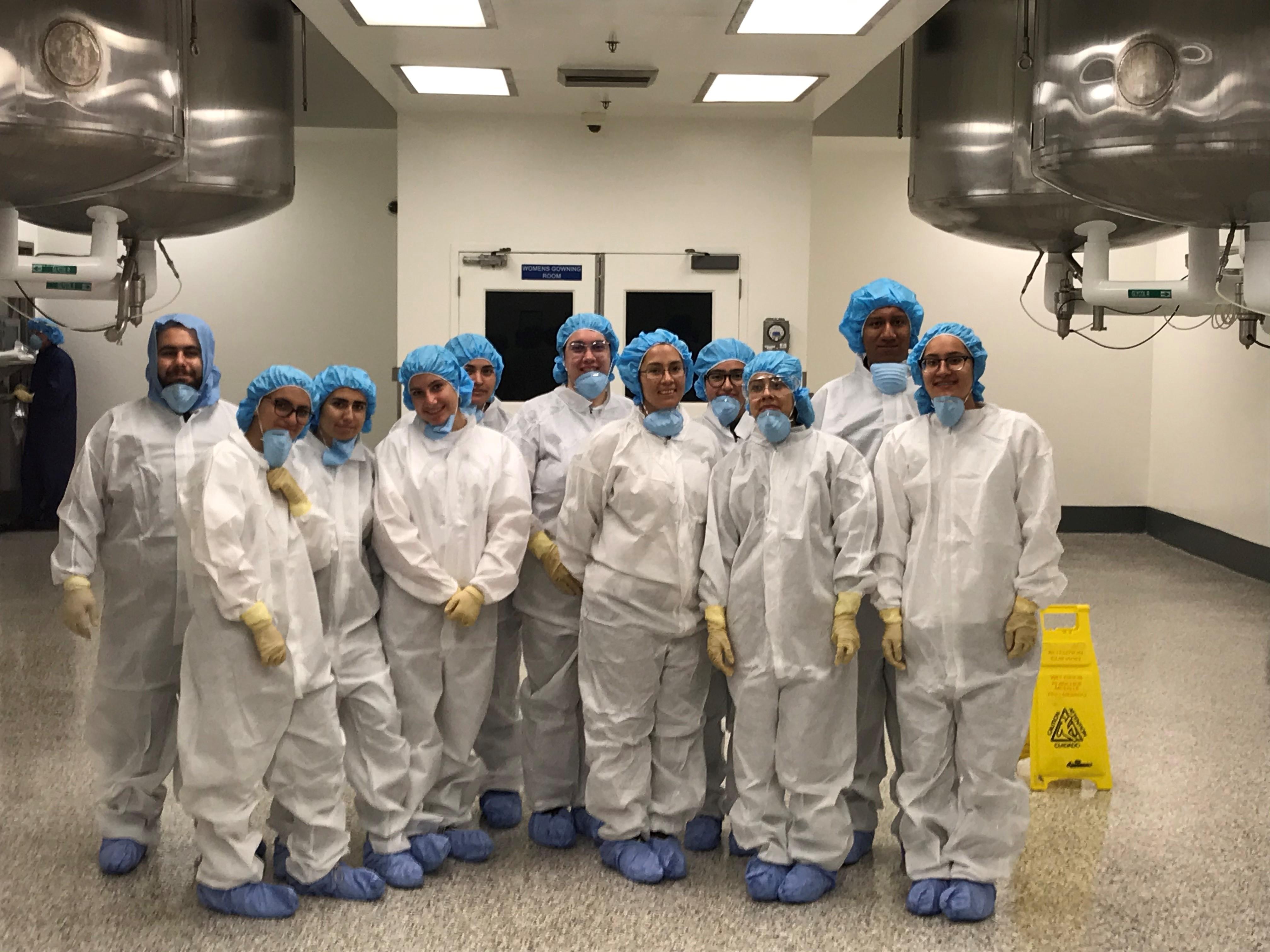 Biotech Students at Takeda Pharmaceutical