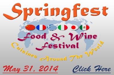 Springfest 2014 Food & Wine