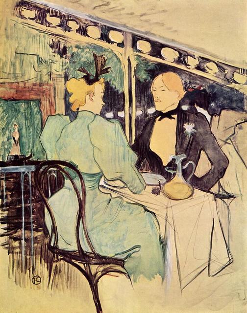 Henri de Toulouse-Lautrec - For the Ambassadors_ chic People
